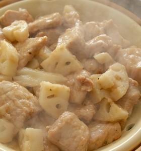 豚肉レンコン'